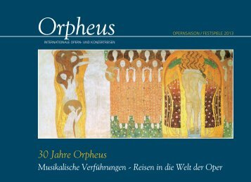 Orpheus - internationale Opern- und Konzertreisen