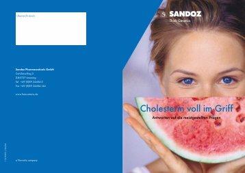 Cholesterin voll im Griff - Dr. med. Erik-C. Miller