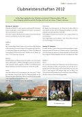 DEZ FORE! - Golfclub Schloss Liebenstein - Page 5