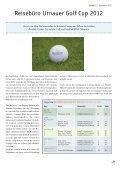 DEZ FORE! - Golfclub Schloss Liebenstein - Page 7