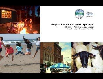 Program - State of Oregon