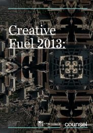 Lowe Counsel - Creative Fuel