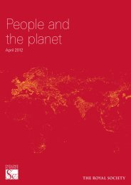 People and the planet (Full report) - The Royal Society
