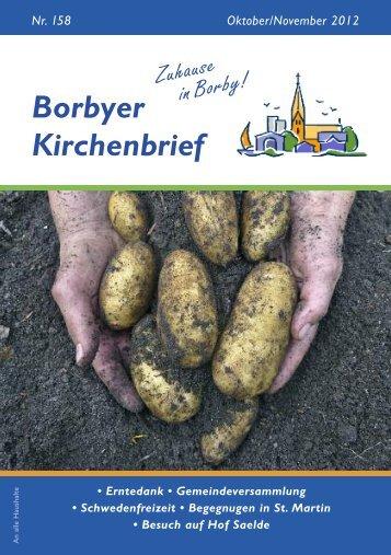 Borbyer Kirchenbrief - e+h internet dienste