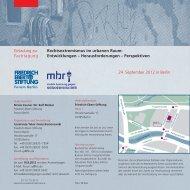 Rechtsextremismus im urbanen Raum: Entwicklungen ...