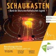 Schaukasten 1-2012: Beruf(ung) - BdkJ