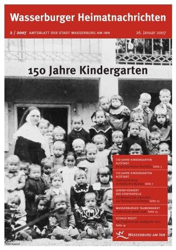 150 Jahre Kindergarten - Wasserburg am Inn!