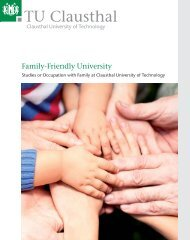 Family-Friendly University - Familien an der TU Clausthal