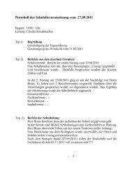 Protokoll der Schulelternratssitzung vom 27.09.2011 - Realschule ...