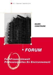 Nummer 3/2010 - FachFrauen Umwelt