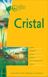Cristal No 14 - Freie Waldorfschule Oberberg