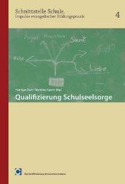 Qualifizierung Schulseelsorge - Comenius-Institut, Evangelische ...