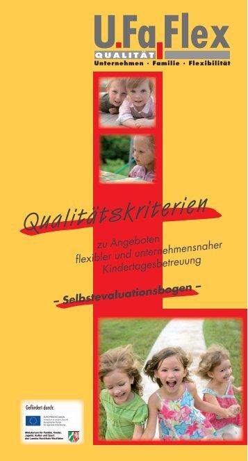 UFaFlex - Institut Arbeit und Qualifikation - Universität Duisburg-Essen