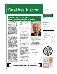 Seeking Justice - Lake County, Illinois
