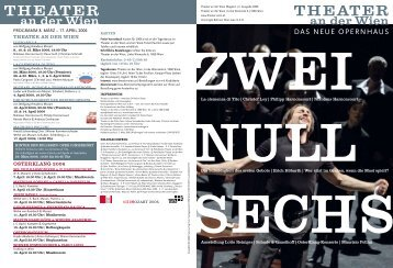müssen - Theater an der Wien