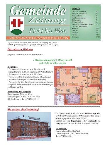 Folge 1-2010 - Pichl bei Wels - Land Oberösterreich