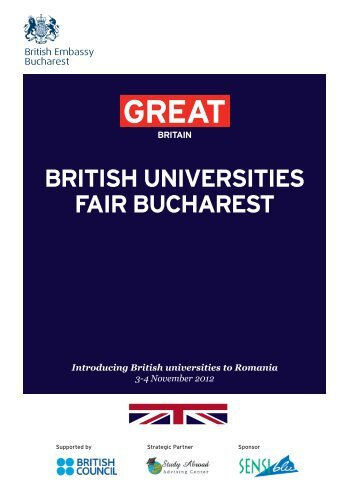 british universities fair bucharest - British Universities come to ...