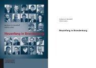 Neuanfang in Brandenburg - Brandenburgische Landeszentrale für ...