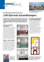 Grossüberbauung in Oberkirch/LU - R. Nussbaum AG