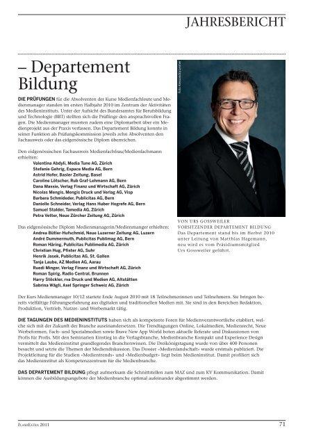 Hintergrund. - Verband Schweizer Presse