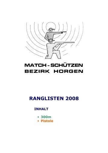 RANGLISTEN 2009-match-Internet