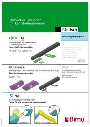 Highlights für Langdreher - Friedrich Britsch GmbH & Co. KG