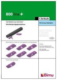 Hochleistungsgeometrien - Friedrich Britsch GmbH & Co. KG