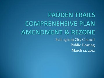 Presentation in PDF format given to city for