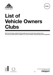 List of Vehicle Owners Clubs - DriveAll Driver Training