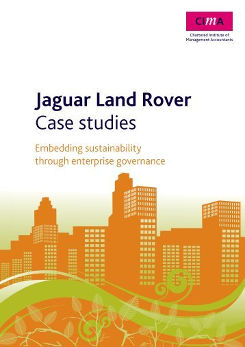 jaguar case study There are great opportunities and we will provide awarding-winning training  schemes and desirable qualifications at jaguar landrover.