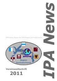 Vereinszeitschrift - IPA Zentralschweiz
