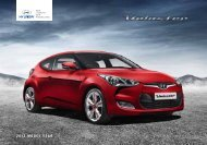 Download Veloster Brochure - John Mulholland Motor Group