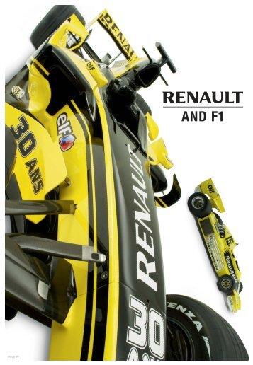 Renault F1 UK:Renault et la F1