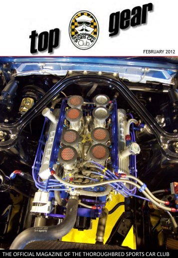 the official magazine of the thoroughbred sports car club