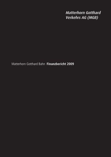 Matterhorn Gotthard Verkehrs AG (MGB) - Matterhorn Gotthard Bahn