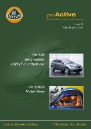 The British Motor Show The APX programme: A Jekyll and Hyde car
