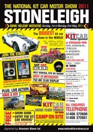 The BIGGESTkit car show in the WORLD! - National Kit Car Motor ...