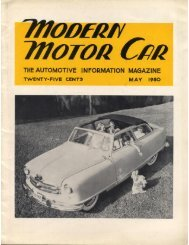 Modern Motor Car May 1950