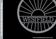 The Westfield Sportscars Range - Westfield SEight Build