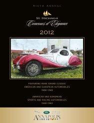 Download a copy of the 2012 Program - St. Michaels Concours d ...