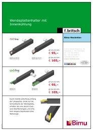 ISO Wendeplattenhalter mit IK Anschluss - Friedrich Britsch GmbH ...