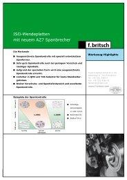 NTK ISO-Wendeplatten - Friedrich Britsch GmbH & Co. KG