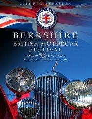 2012 registration form - Berkshire British Motorcar Festival