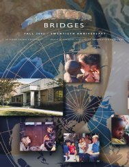 BRIDGES - Kennedy Center - Brigham Young University