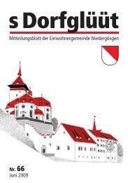 Inhalt 64.qxd - Gemeinde Niedergösgen