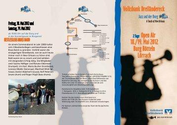 2 Tage Open Air 18./19. Mai 2012 Burg Rötteln Lörrach Volksbank ...