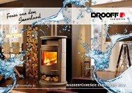 Energie sparen mit Feuer und Wasser - DROOFF Kaminöfen