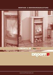 LIMONTA SP | Magie Feuer. | - DROOFF Kaminöfen