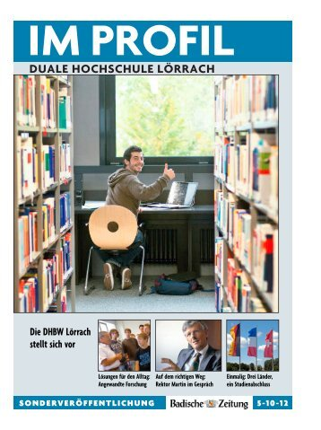DUALE HOCHSCHULE LÖRRACH - DHBW Lörrach
