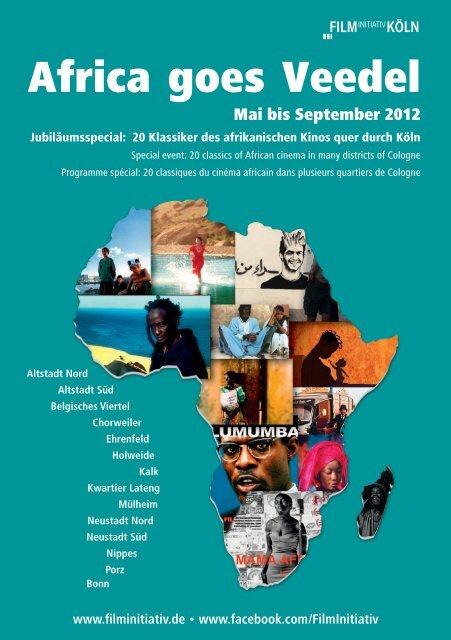 programme « Africa goes Veedel - FilmInitiativ Köln eV
